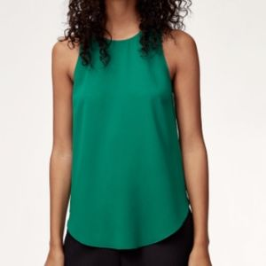 Wilfred Teal Sleeveless Sèvres Blouse